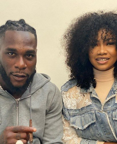 Tacha meets Burna Boy