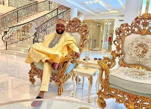 E-Money shows off interiors of his mansion