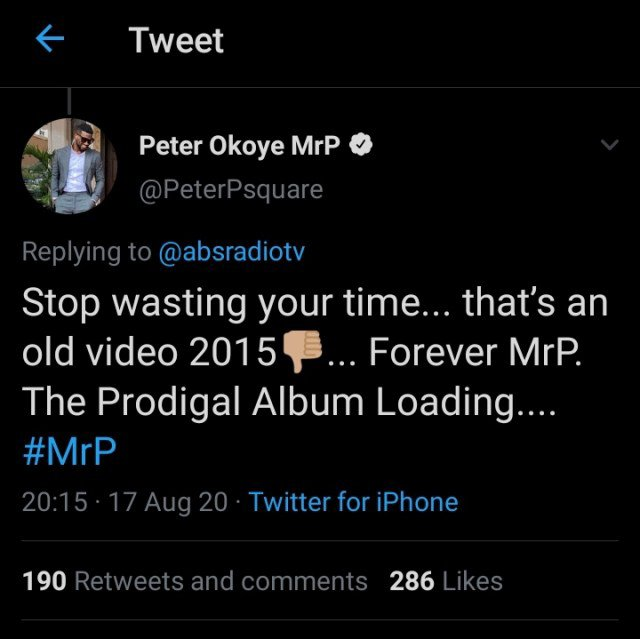 peter okoye p-square