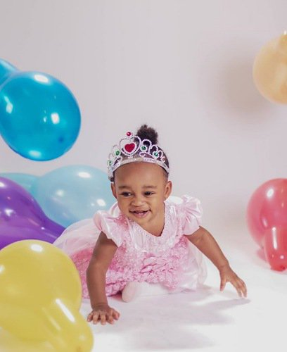 Ruth Kadiri celebrates daughter