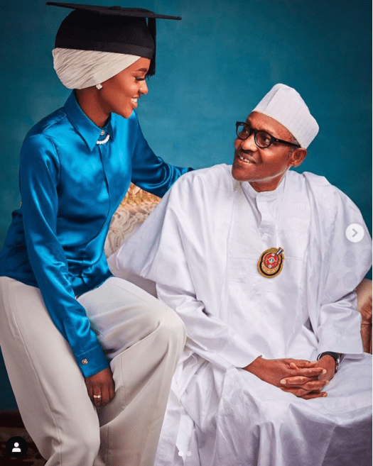 Hanan Buhari wedding invitation