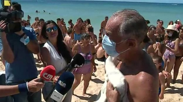 Portuguese President women drowning
