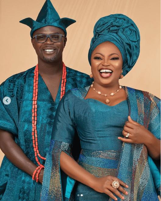 Funke Akindele wedding annniversary