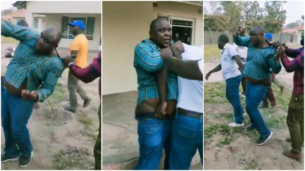 Man caught sleeping with boss' wife