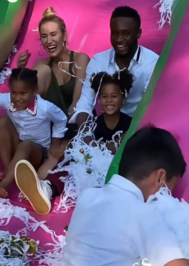 Mikel Obi daughters' birthday