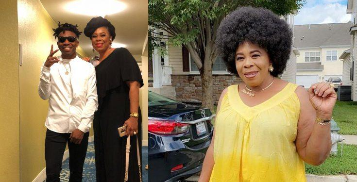 Mayorkun's Mother reveals she initially didn't support him going into music
