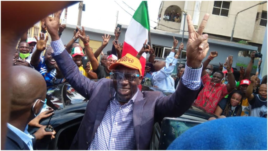 Obaseki wins Edo election
