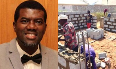 reno omokri, bricklayer