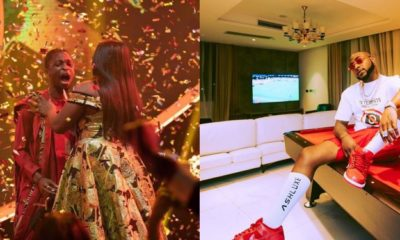 """Send me some money"" – Davido begs BBNaija winner, Laycon (video)"
