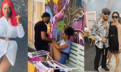 Uriel reacts as Ozo professes love to Nengi again (video)