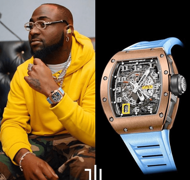 Davido's Richard Mille