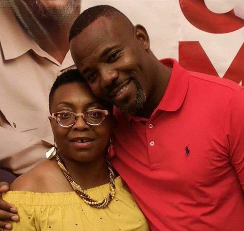 Okey Bakassi and wife anniversary