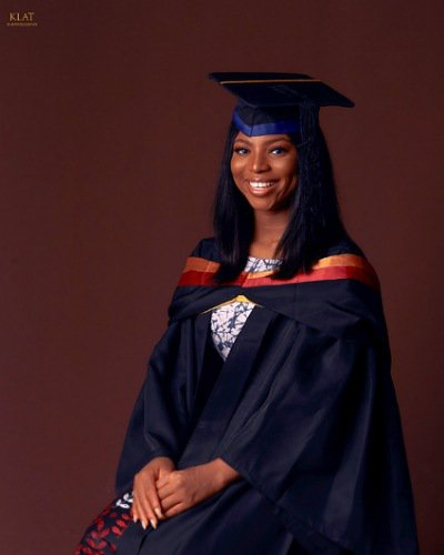Lady bags a near First Class degree
