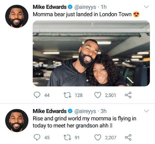 Mike Edwards' Mom