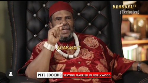 Pete Edochie advises women