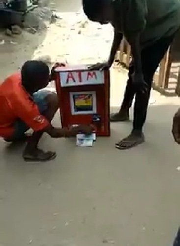 Boy Manufactures ATM in Imo