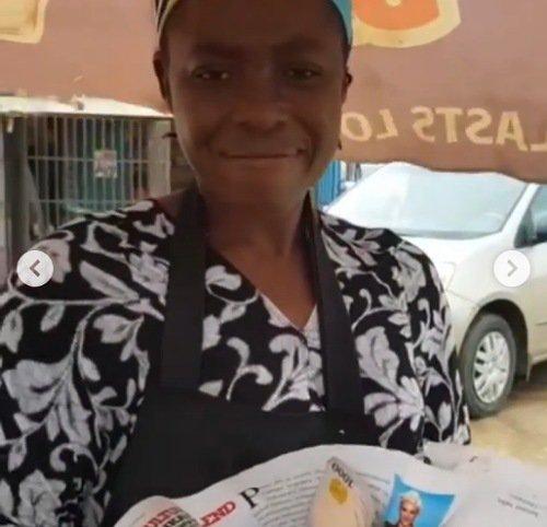 Leke Adeboye corn seller