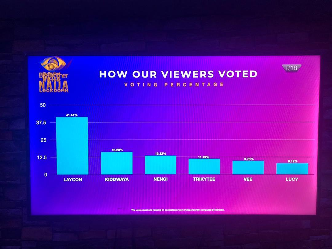 How Viewers Voted Their Favourite Housemates