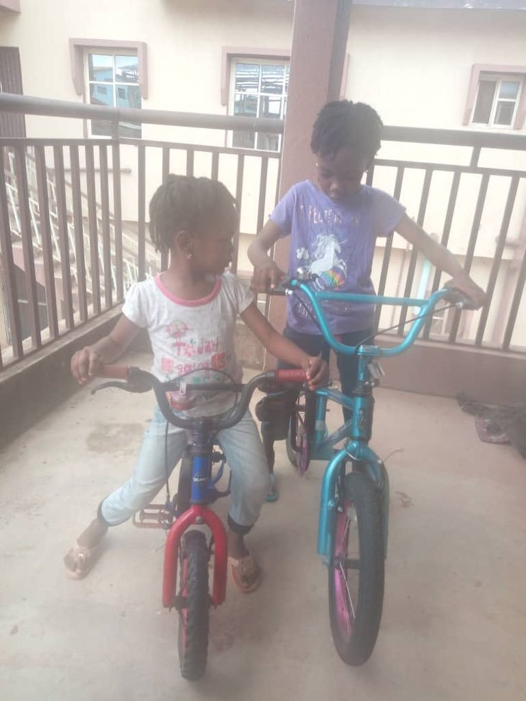 Man Buys Bicycles For His Daughters