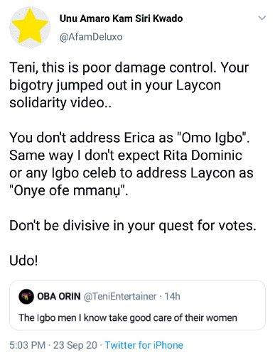 """Teni Erica """"Omo Igbo"""""""