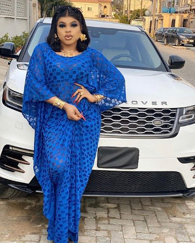Bobrisky Brabus G63 ₦140 million