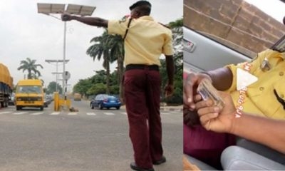 lastma collecting bribe
