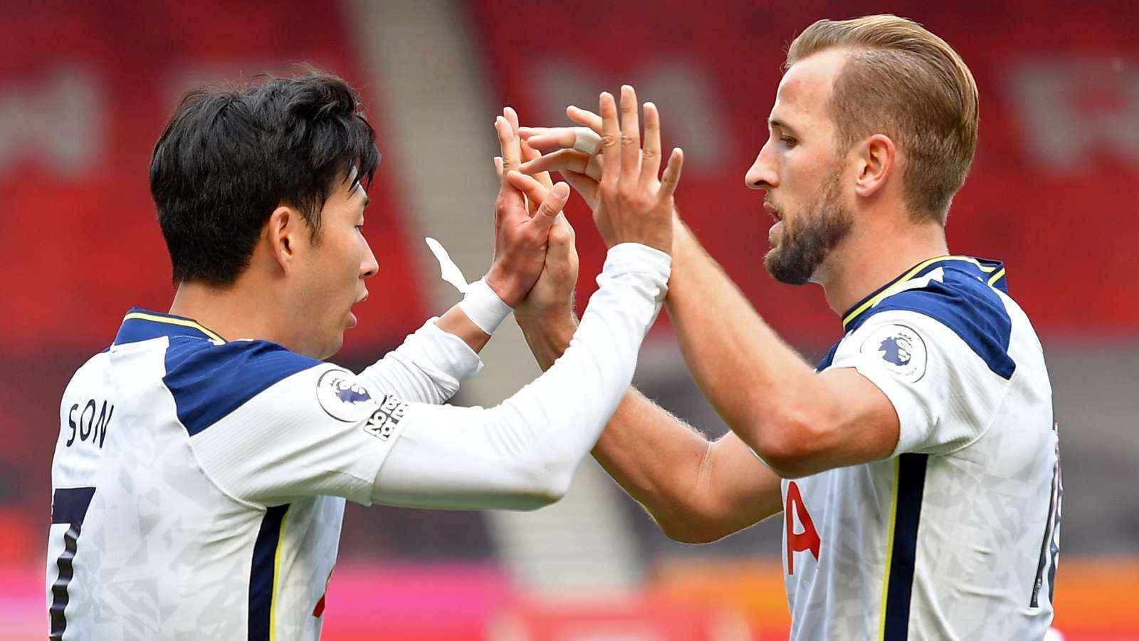 Southampton 2-5 Tottenham: Son and Kane make Premier ...