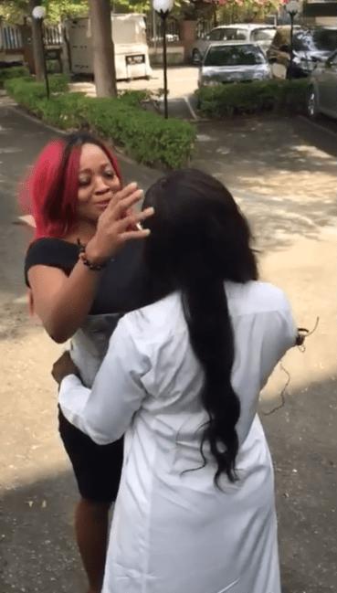Ka3na and Lucy reunite