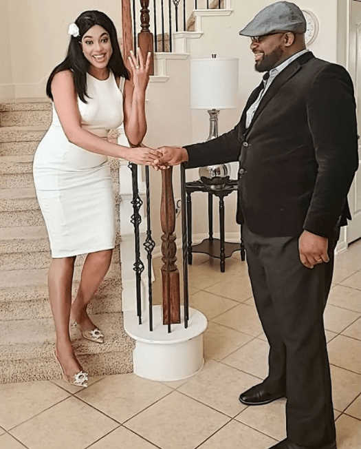 Treasure Daniels engaged