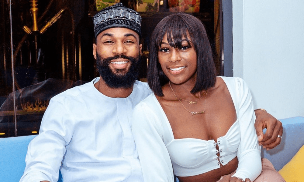 Mike Edwards and his wife, Perri Shakes-Drayton