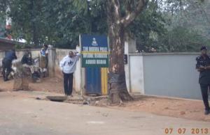 agugu police station, ibadan