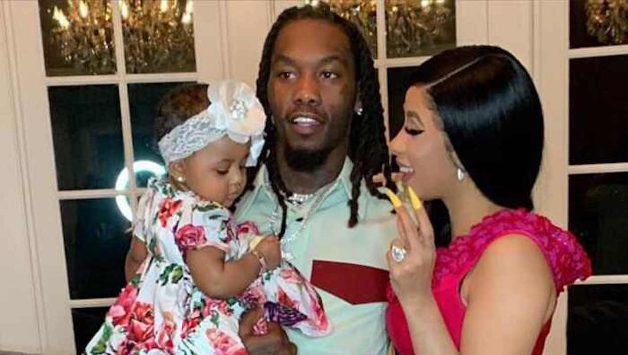 cardi-b, offset, and her daughter