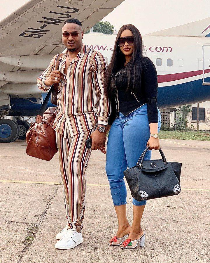 Bolanle Ninalowo and wife