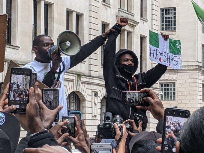 EndSARS London protest