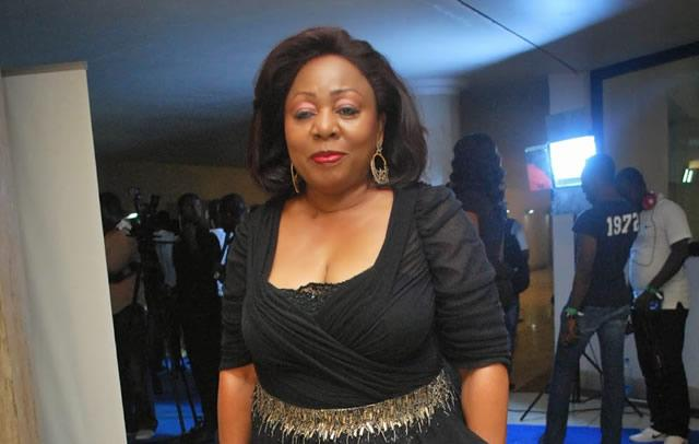Florence Ita Giwa kneels to beg youths