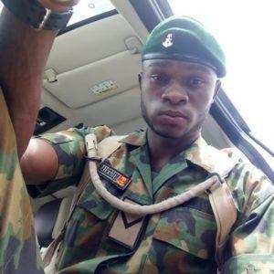 Nigerian soldier EndSARs