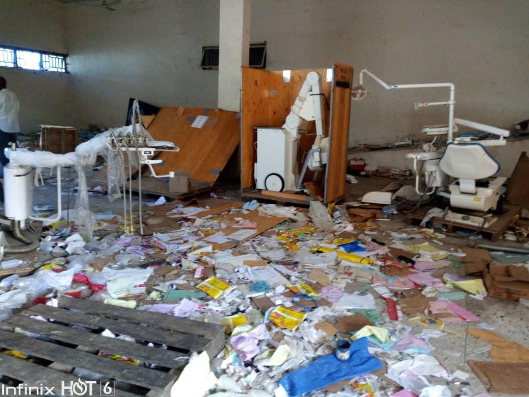 looted medical equipment kogi