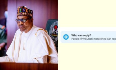 presidency locks buhari's tweet comment section