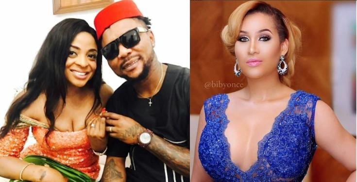 Oritsefemi and Caroline Danjuma fight