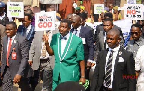 pastor adeboye #endsars protest