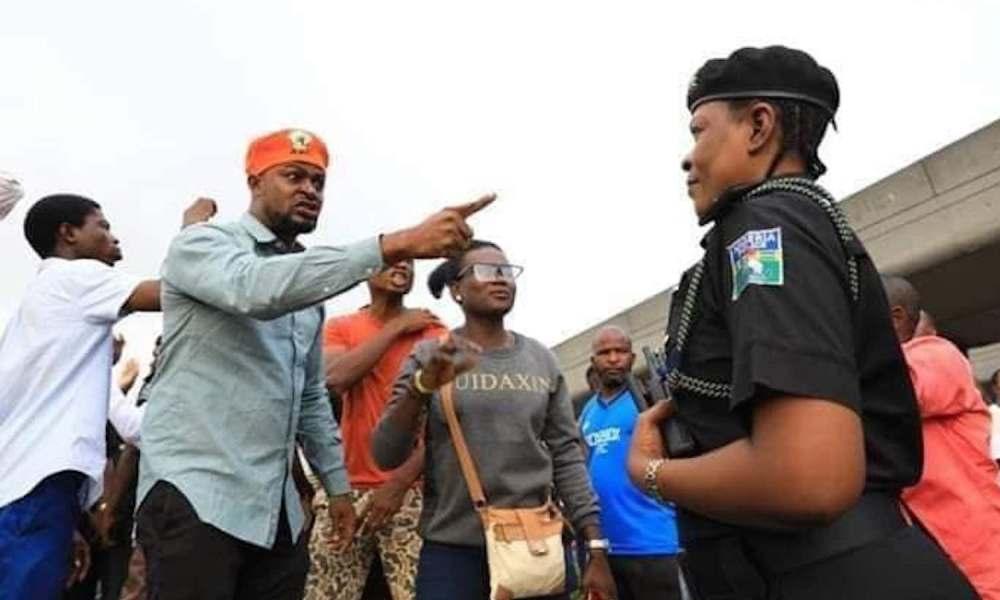 revolution now protest , nigeria at 60