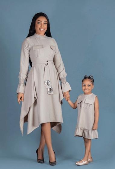dabota lawson celebrates her daughter, reginah on her fourth birthday