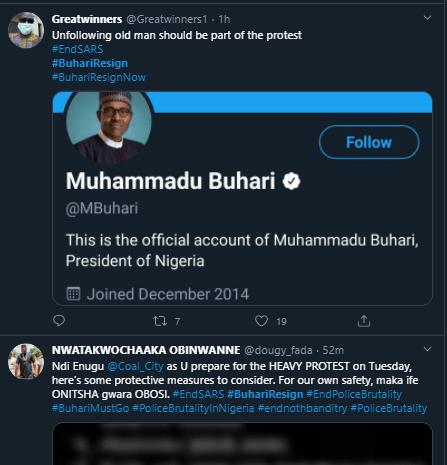 buhari resign, Endsars