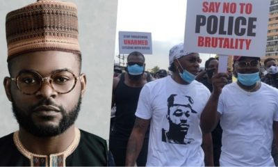 No Alcohol, Protest not party – Singer, Falz Warns #EndSARS protesters