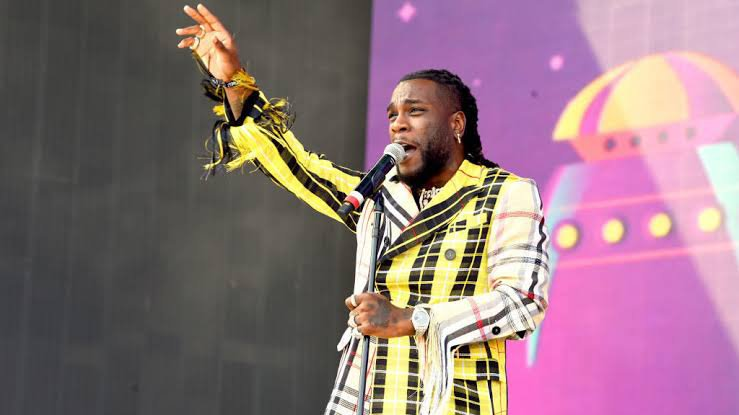 Burna Boy dedicates performance