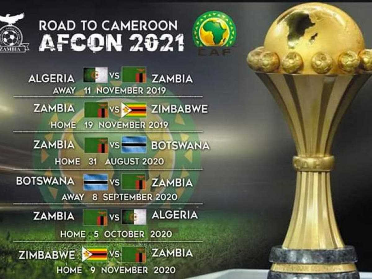 afcon qualifiers 2021
