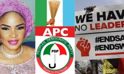 """Stop Recycling"" - Actress Iyabo Ojo Vows Never To Support Both PDP, APC"