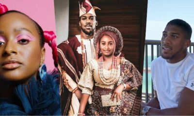 Traditional Wedding Dj Cuppy, Anthony Joshua's Photo