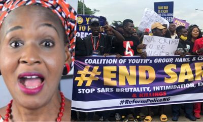 "#EndSARS: ""Don't blame the government but your parents"" – Kemi Olunloyo"