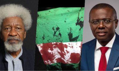 #LekkiMassacre: My enquiry indicates Sanwo-Olu didn't invite Army – Soyinka